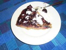 Kirschen  Kuchen  << upside  down >> - Rezept