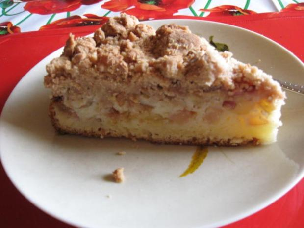 Apfel buttermilch kuchen rezept mit bild for Kuchen mit bild