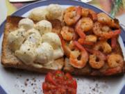 Curry-Wachteleier-Salat und Party-Crevetten - Rezept - Bild Nr. 72