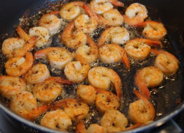 Curry-Wachteleier-Salat und Party-Crevetten - Rezept - Bild Nr. 77