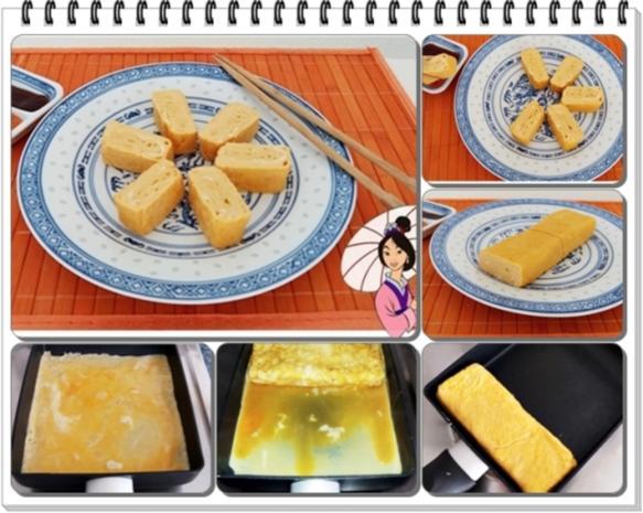 Tamagoyaki-Japanisches-gerolltes-Omelett - Rezept - Bild Nr. 90