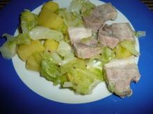 Spitzkohl - Schweinebauch - Kartoffel - Eintopf - Rezept - Bild Nr. 75