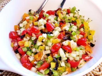 Konfetti-Salat ... erfrischend-kühle Beilage - Rezept - Bild Nr. 80