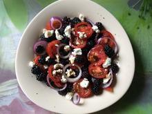 Tomaten-Brombeer-Salat - Rezept - Bild Nr. 85