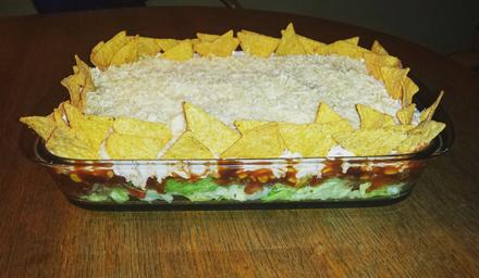 Taccosalat Tacco Salat Schichtsalat Tacco-Salat - Rezept - Bild Nr. 95