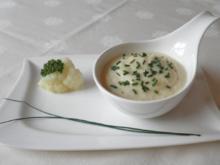 Blumenkohl - Creme - Suppe ... - Rezept