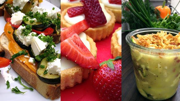 Gemüsebaguettes, Milchcremetörtchen, Suppe to go: Drei Rezepte für die Bikinifigur - Rezept - Bild Nr. 2