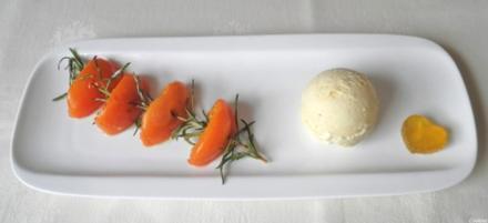 Limetten - Eis mit Olivenöl, Rosmarin - Aprikosen ... und Honig - Gelee - Herzen ... - Rezept - Bild Nr. 130