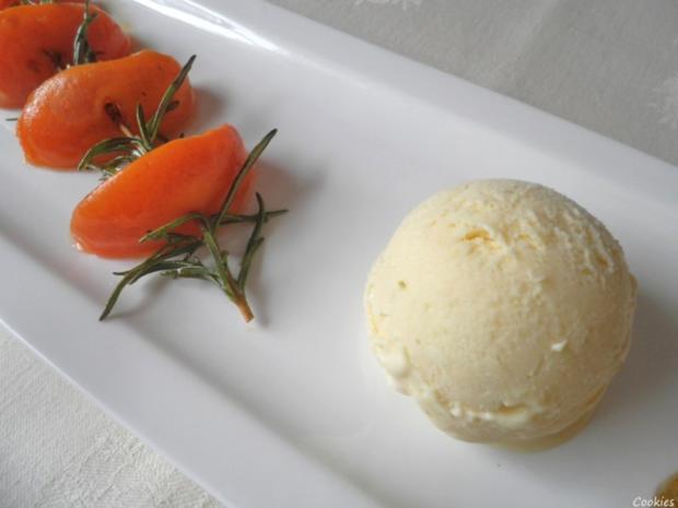 Limetten - Eis mit Olivenöl, Rosmarin - Aprikosen ... und Honig - Gelee - Herzen ... - Rezept - Bild Nr. 131