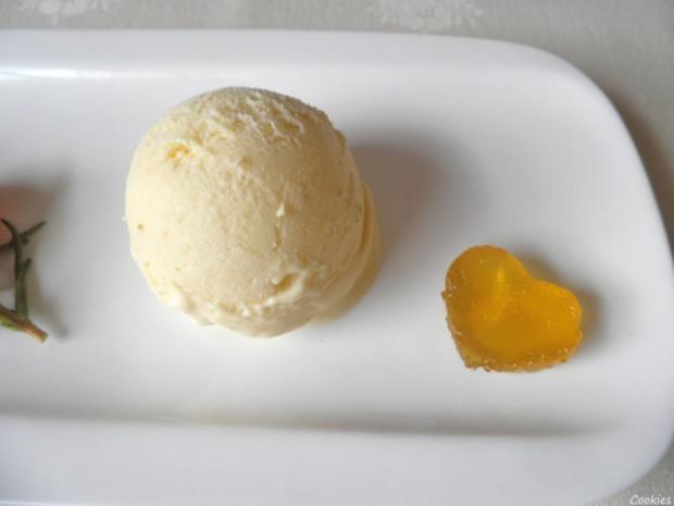 Limetten - Eis mit Olivenöl, Rosmarin - Aprikosen ... und Honig - Gelee - Herzen ... - Rezept - Bild Nr. 132