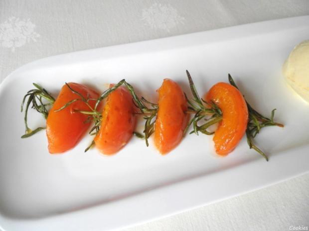 Limetten - Eis mit Olivenöl, Rosmarin - Aprikosen ... und Honig - Gelee - Herzen ... - Rezept - Bild Nr. 133