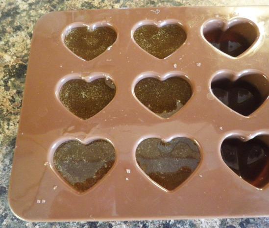 Limetten - Eis mit Olivenöl, Rosmarin - Aprikosen ... und Honig - Gelee - Herzen ... - Rezept - Bild Nr. 151