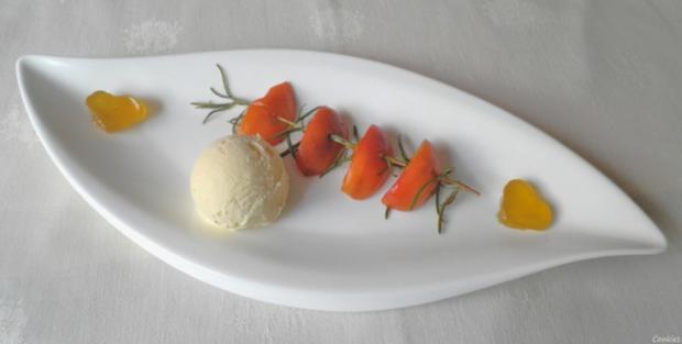 Limetten - Eis mit Olivenöl, Rosmarin - Aprikosen ... und Honig - Gelee - Herzen ... - Rezept - Bild Nr. 157