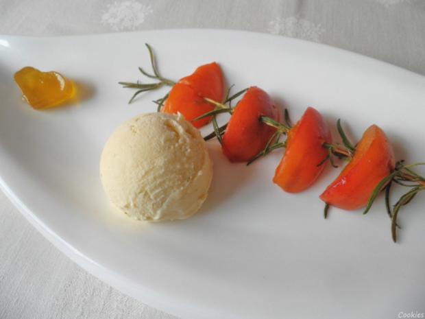 Limetten - Eis mit Olivenöl, Rosmarin - Aprikosen ... und Honig - Gelee - Herzen ... - Rezept - Bild Nr. 158