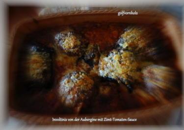 Involtini von der Aubergine in Zimt-Tomaten-Sauce - Rezept - Bild Nr. 130