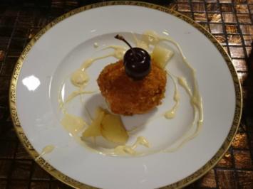 Frittiertes Vanille-Eis - Rezept