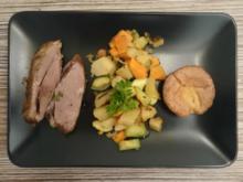 Slow cooked lamb shank roast with mint sauce - Rezept - Bild Nr. 132