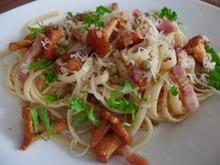 Pfifferling-Speck-Pasta - Rezept - Bild Nr. 132