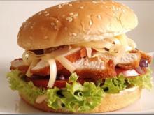 Mega Putenschnitzel Burger mit selbstgemachter Sauce - Rezept - Bild Nr. 145
