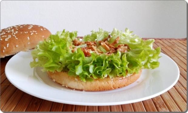 Mega Burger mit Bratwurstschnecke und… - Rezept - Bild Nr. 155