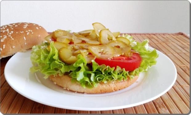 Mega Burger mit Bratwurstschnecke und… - Rezept - Bild Nr. 157