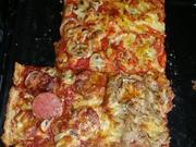 Pizza Quark/Öl Teig Kohlenhydrate Reduziert - Rezept - Bild Nr. 145