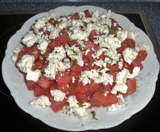 Rezept: Melonen - Feta - Salat