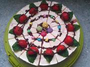 Erdbeer-Philadelphia-Torte - Rezept