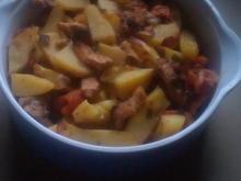 schweinegeschnetzeltes mit Country-Kartoffeln - Rezept - Bild Nr. 180