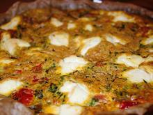 Fritatta mit Tomaten, Spinat & Ricotta - Rezept - Bild Nr. 3