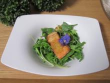 Wildkräutersalat mit Allgäuer Goldforelle und hausgemachtem Brot - Rezept - Bild Nr. 189