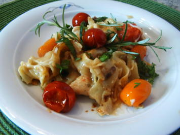 Nudel-Tomaten-Hähnchen-Pfanne - Rezept - Bild Nr. 202