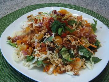 Bunter Salat mit Tomatenpesto - Rezept - Bild Nr. 202