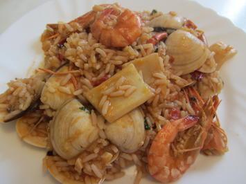 Rezept: Arroz de Marisco - Portugiesisches Reisgericht mit Meeresfrüchten