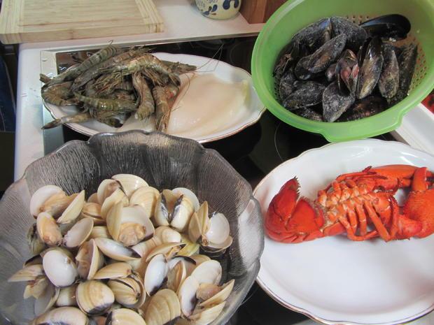 Arroz de Marisco - Portugiesisches Reisgericht mit Meeresfrüchten - Rezept - Bild Nr. 227