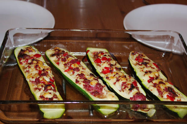 Zucchini mal anders gefüllt - Rezept - Bild Nr. 228