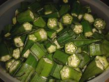 indisch: Bhindi Sabji - Okra-Gemüse - Rezept - Bild Nr. 228
