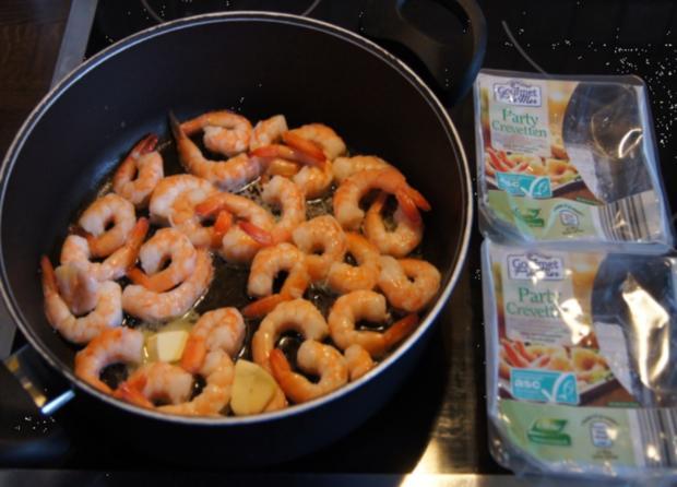 Party-Crevetten mit Mozzarella und Tomaten - Rezept - Bild Nr. 258