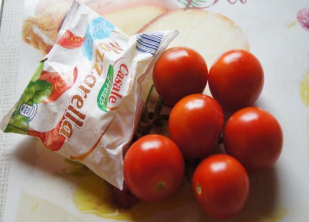 Party-Crevetten mit Mozzarella und Tomaten - Rezept - Bild Nr. 259