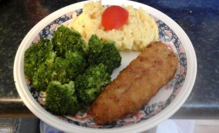 Fischfilet mit Brokkoli und pikanten Kartoffelstampf - Rezept - Bild Nr. 264