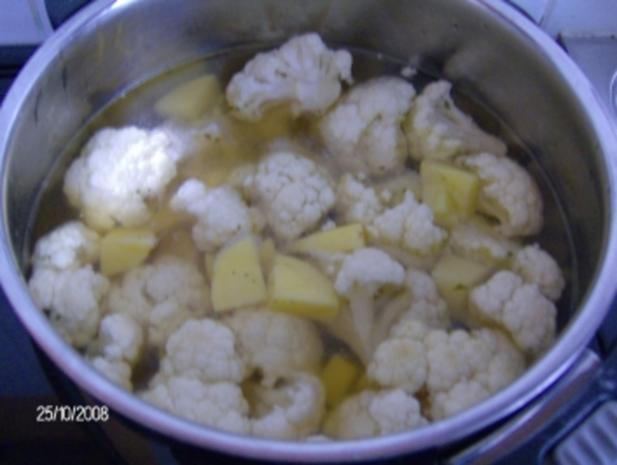 Blumenkohl-Cremesuppe - Rezept