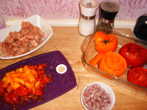 Gefüllte Tomaten - Rezept - Bild Nr. 263