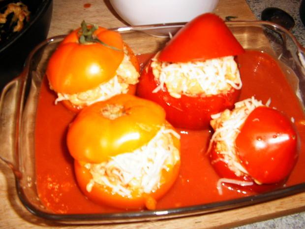 Gefüllte Tomaten - Rezept - Bild Nr. 267