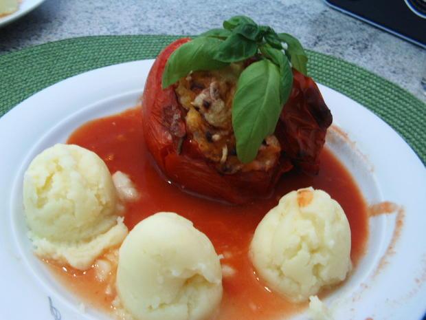 Gefüllte Tomaten - Rezept - Bild Nr. 268