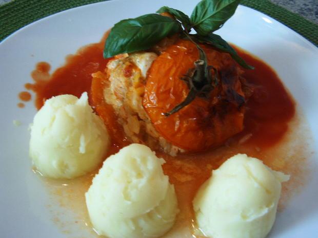 Gefüllte Tomaten - Rezept - Bild Nr. 269
