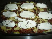 Herbstzeit = Kohlzeit mit Hack + Kartoffel + Käse. - Rezept - Bild Nr. 261