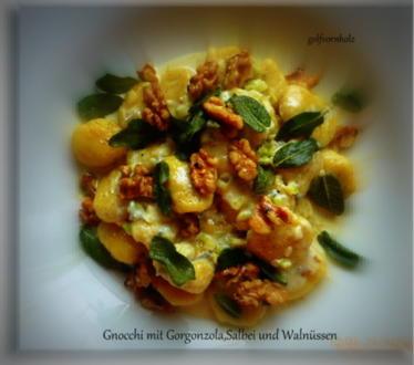 Gnocchi mit Gorgonzola,Salbei und Walnüssen - Rezept - Bild Nr. 269