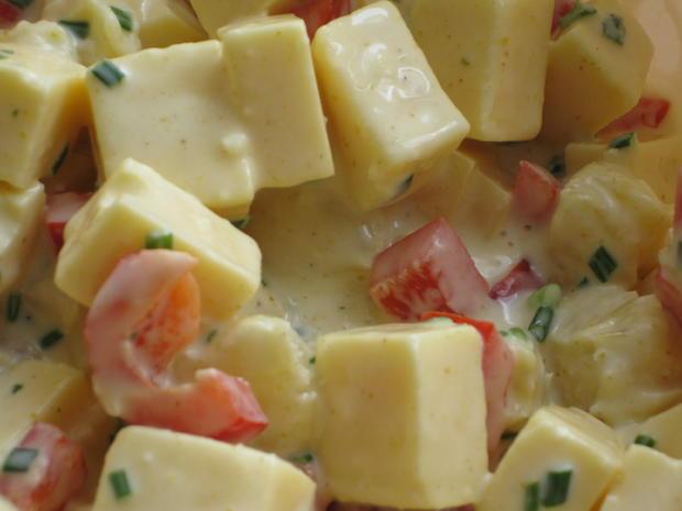 Käse-Ananas-Salat - Rezept - Bild Nr. 263