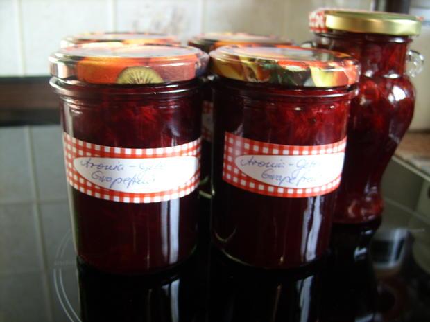 Konfitüre & Co: Aroniagelee mit Grapefruit - Rezept