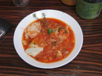 Spanische Fischsuppe - Rezept
